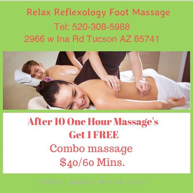 Relax Reflexology Foot Massage