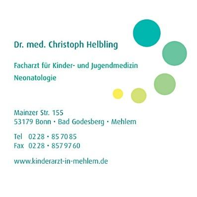 Kinder- und Jugendmedizin, Neonatologie   Dr. med. Christoph Helbling   Bonn Bonn