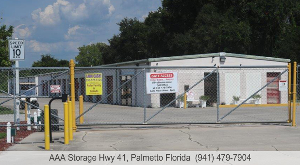 Aaa Storage Hwy 41 In Palmetto Fl 34221