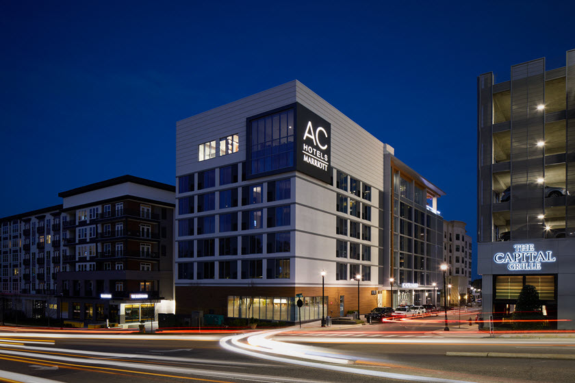 Ac Hotel By Marriott Raleigh North Hills Raleigh North