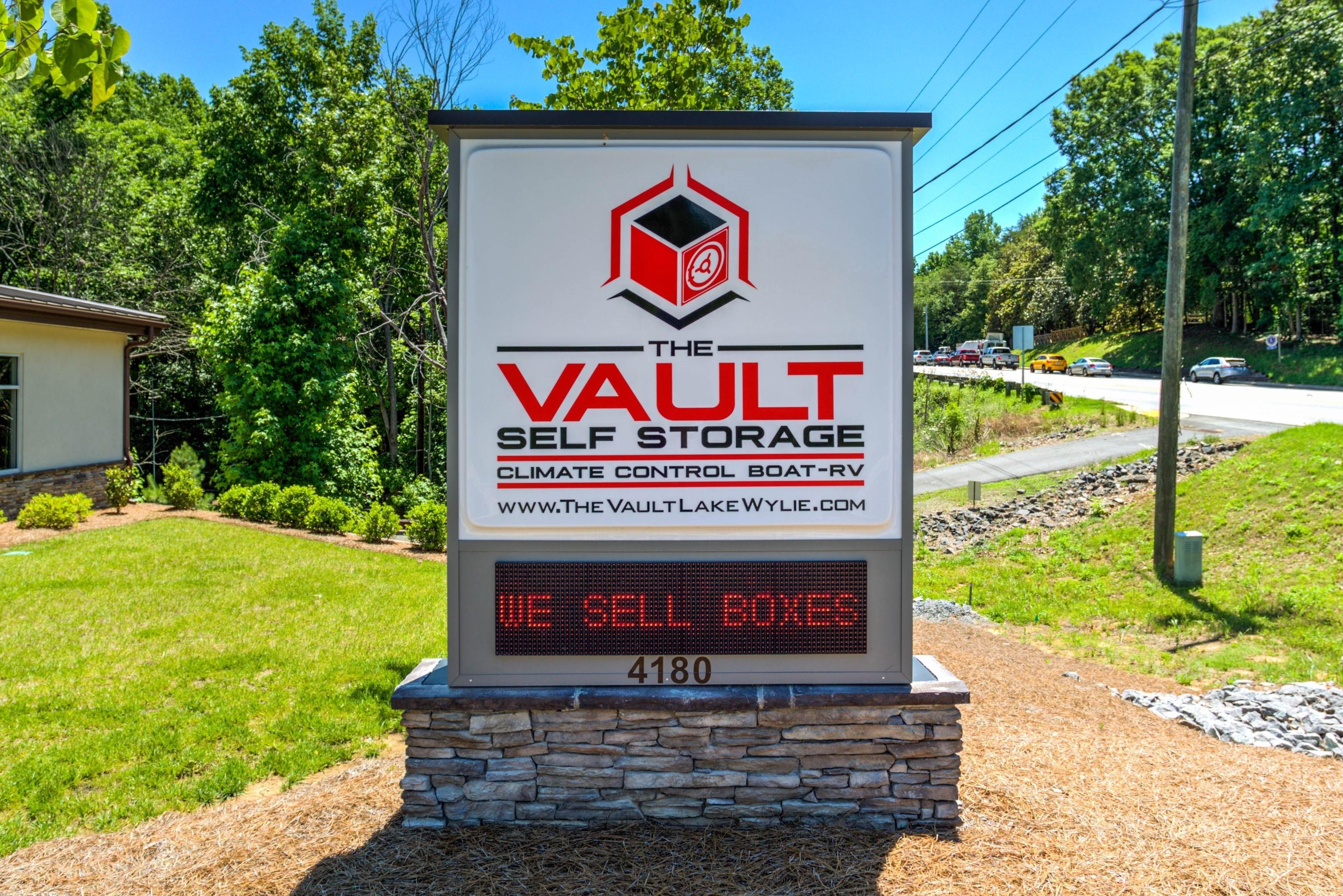 The Vault Self Storage In Lake Wylie Sc 29710