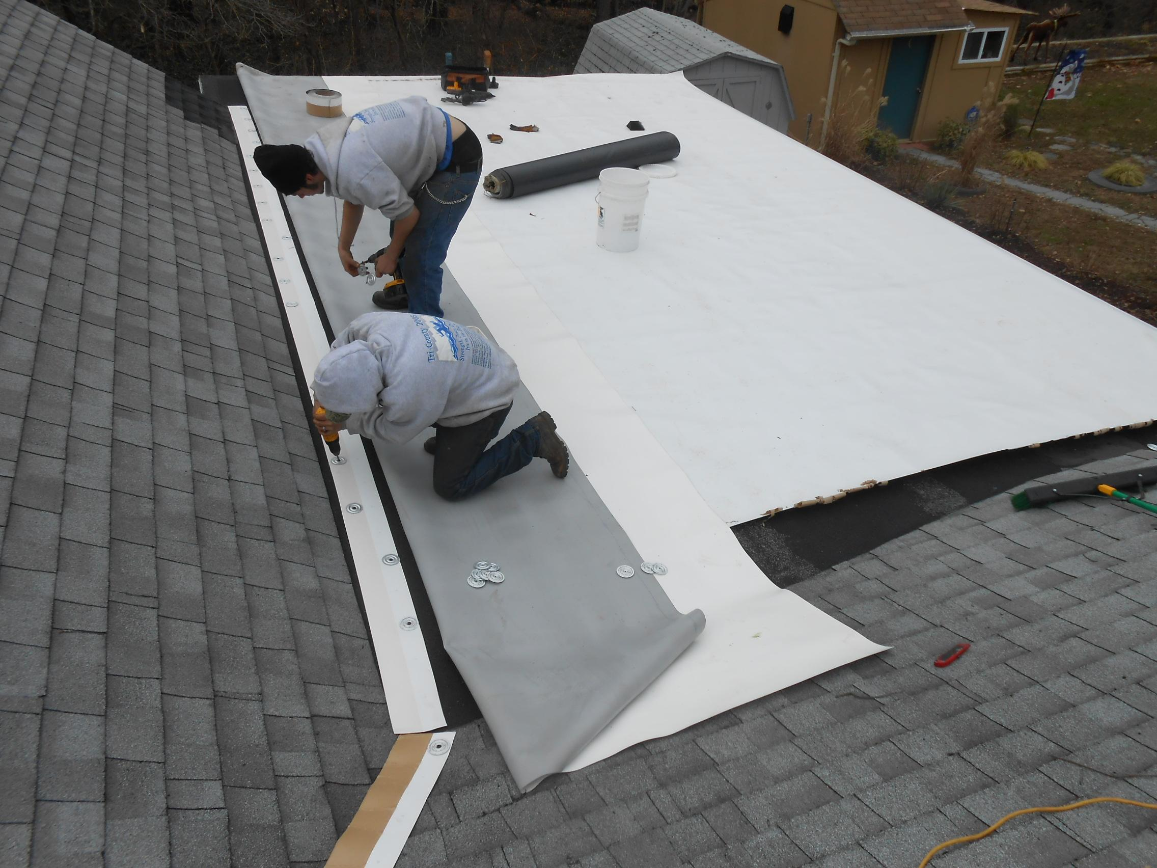 Lew Newcomb Roofing Installations
