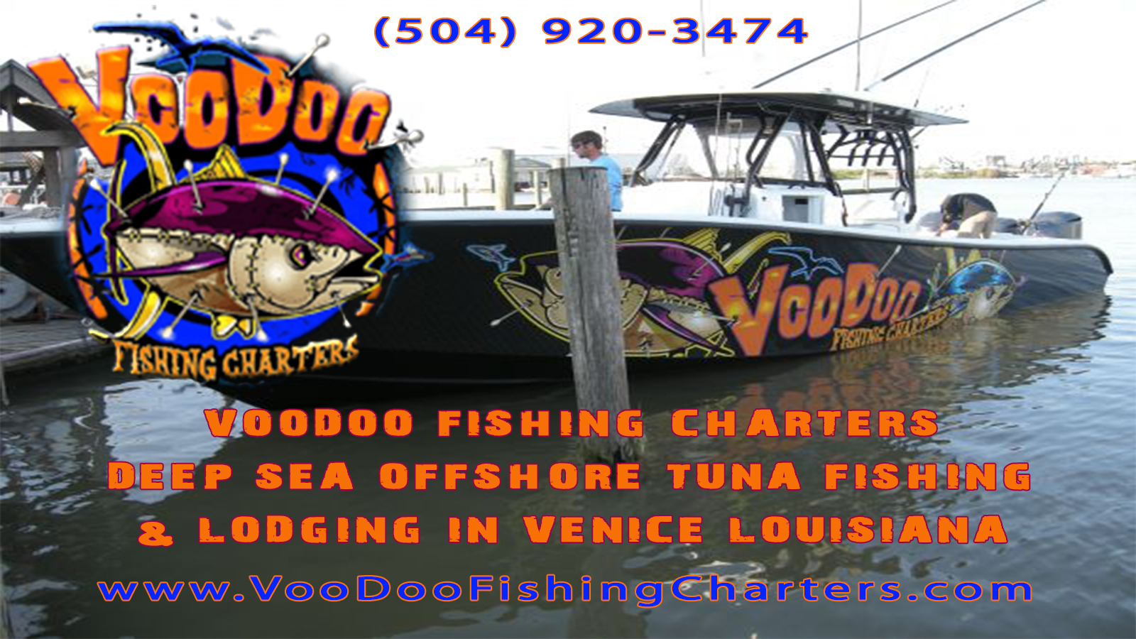 Voodoo fishing charters deep sea offshore tuna fishing for La fishing charters