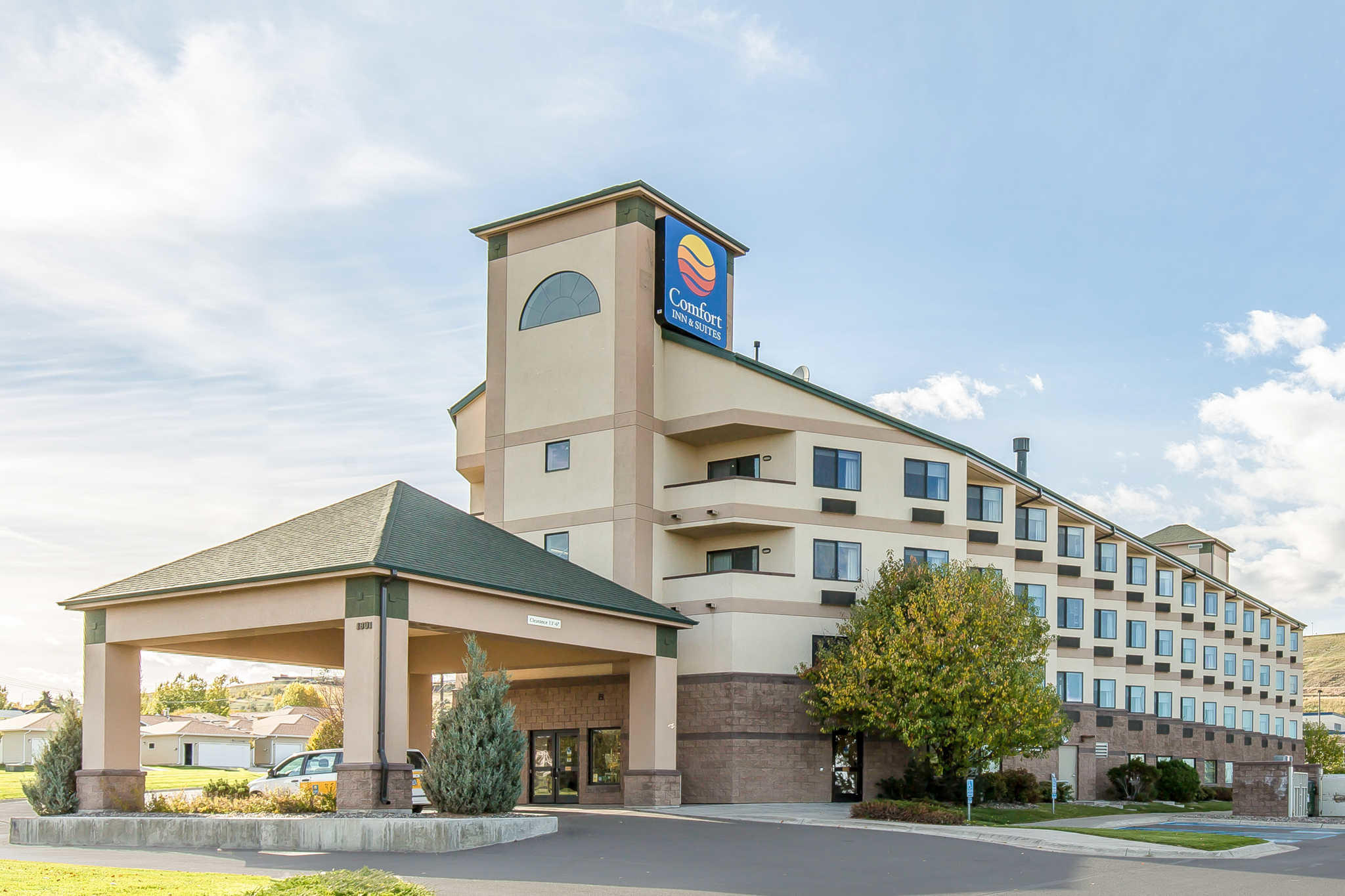 Comfort Inn Suites Market Airport Great Falls Montana Mt