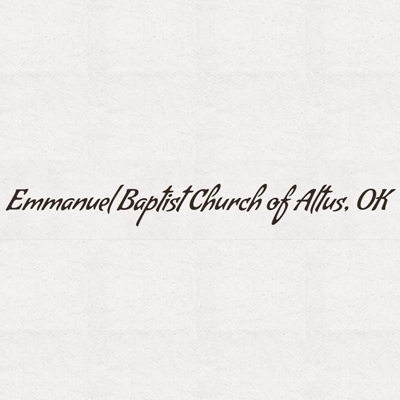 Emmanuel Baptist Church Of Altus