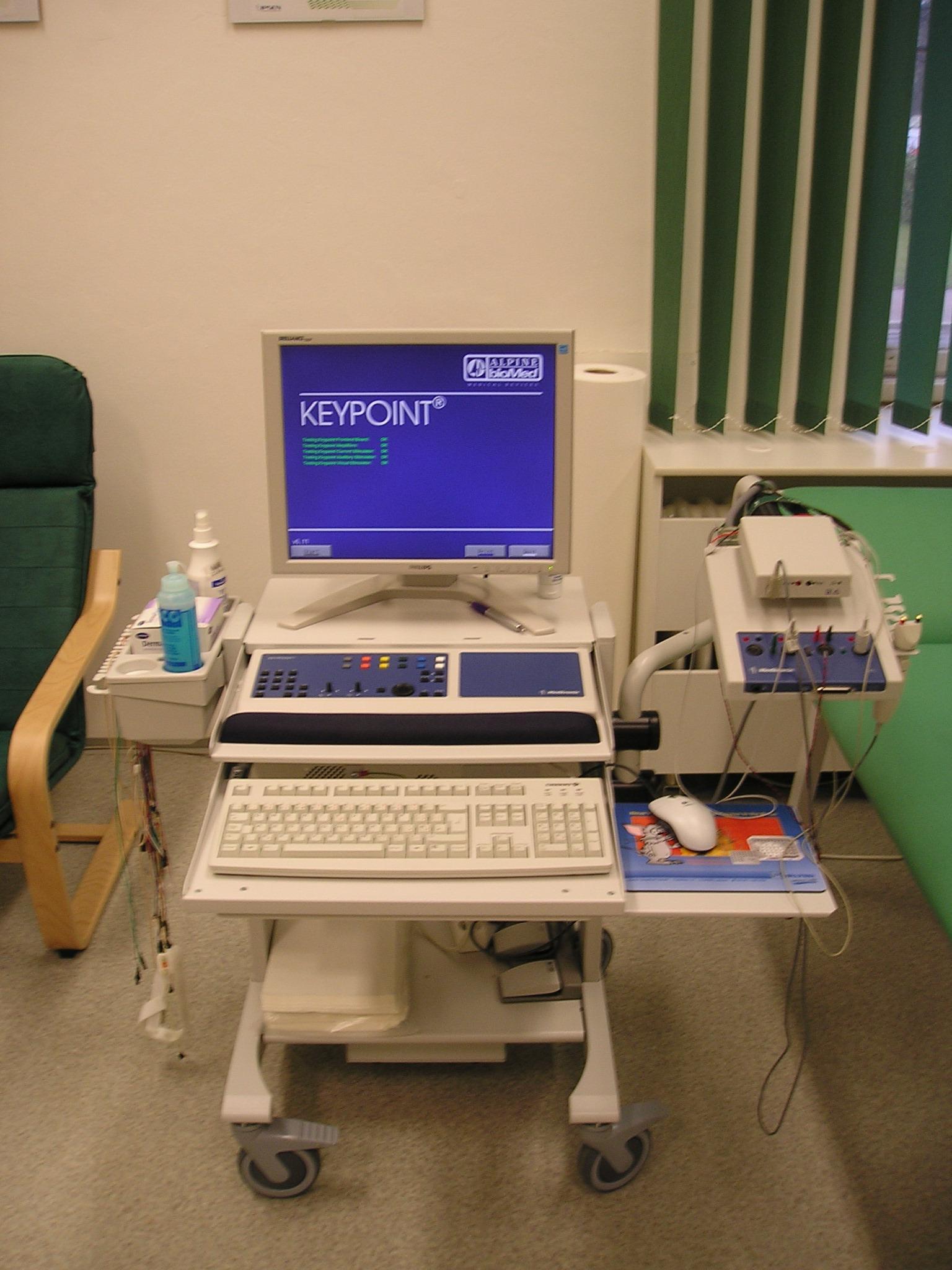 MUDr. Martin Volný, neurologie - EMG laboratoř
