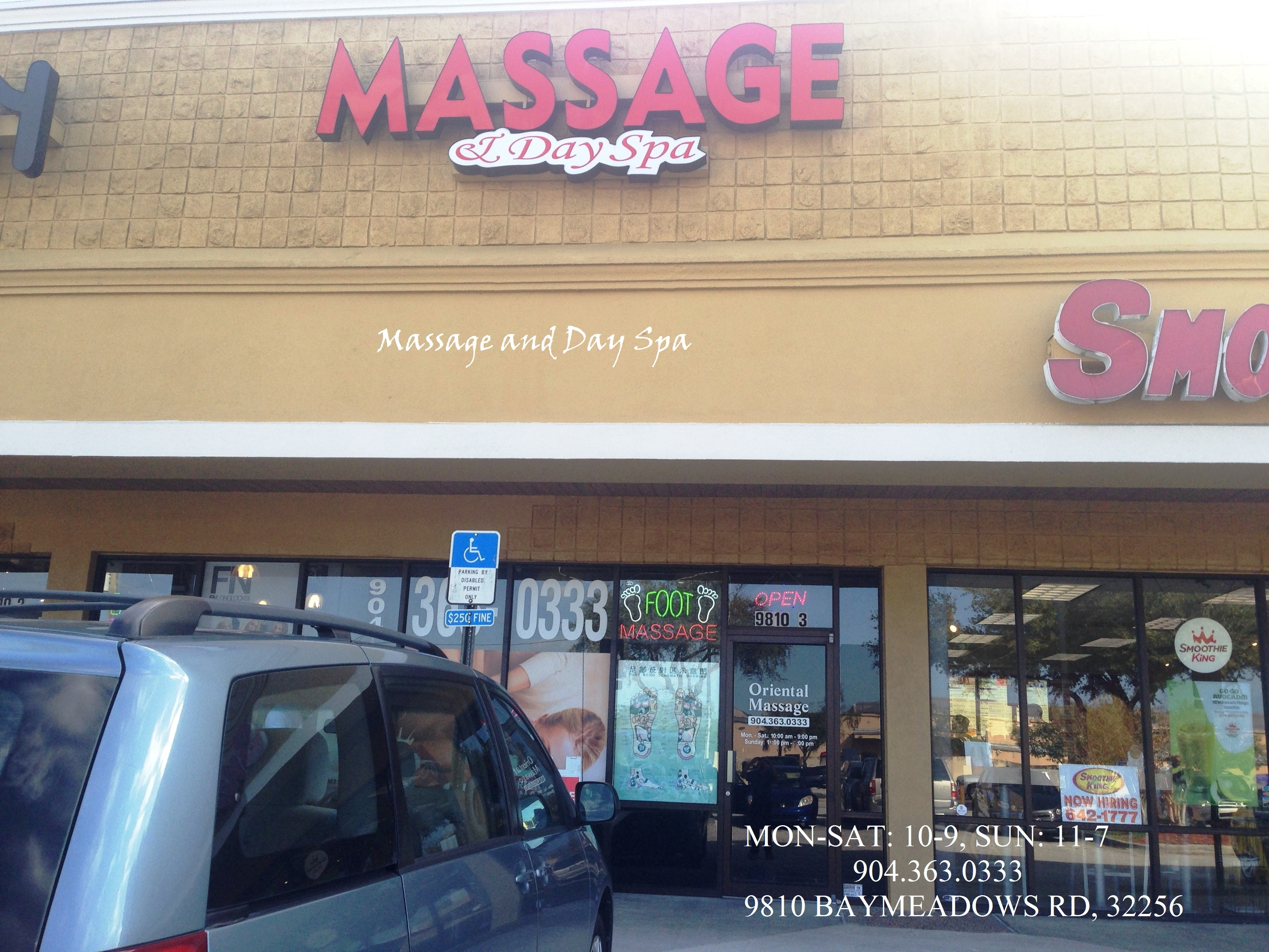 Massage And Day Spa In Jacksonville Fl 32256