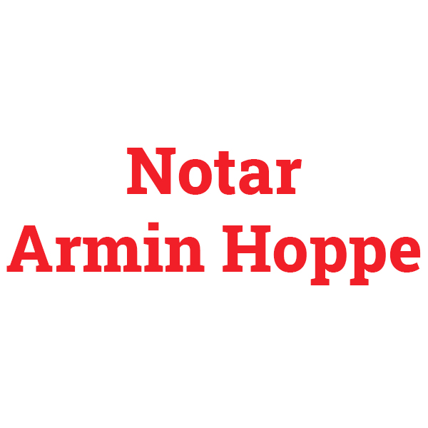 Armin Hoppe Notar