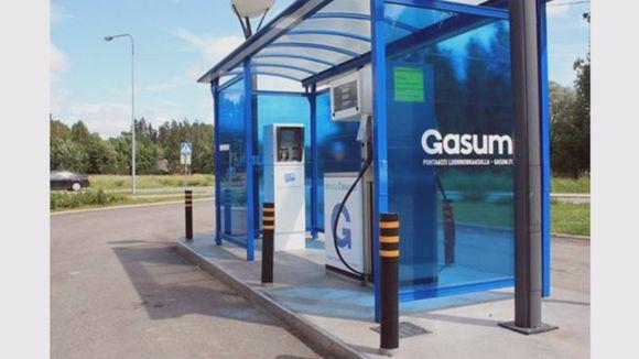 Gasum Riihimäen biokaasulaitos