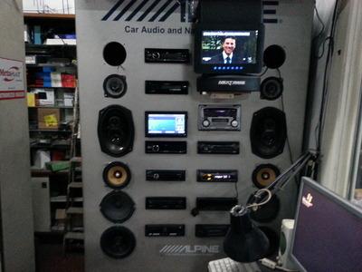 Centro Hi-Fi Auto
