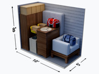 5x10 Storage Unit Size Guide