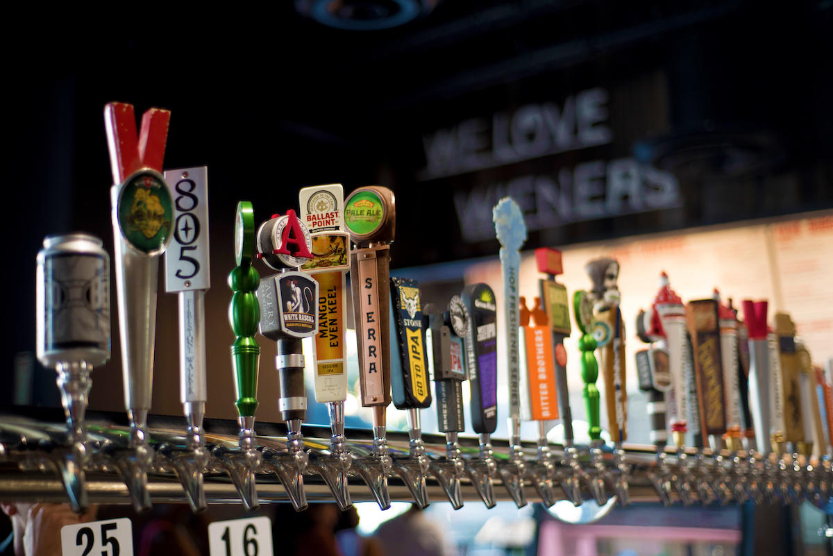 Dog Haus is all about great craft beer, and our tap lists focus on local brews, which makes each Dog Haus location unique. Find out more at doghaus.com.