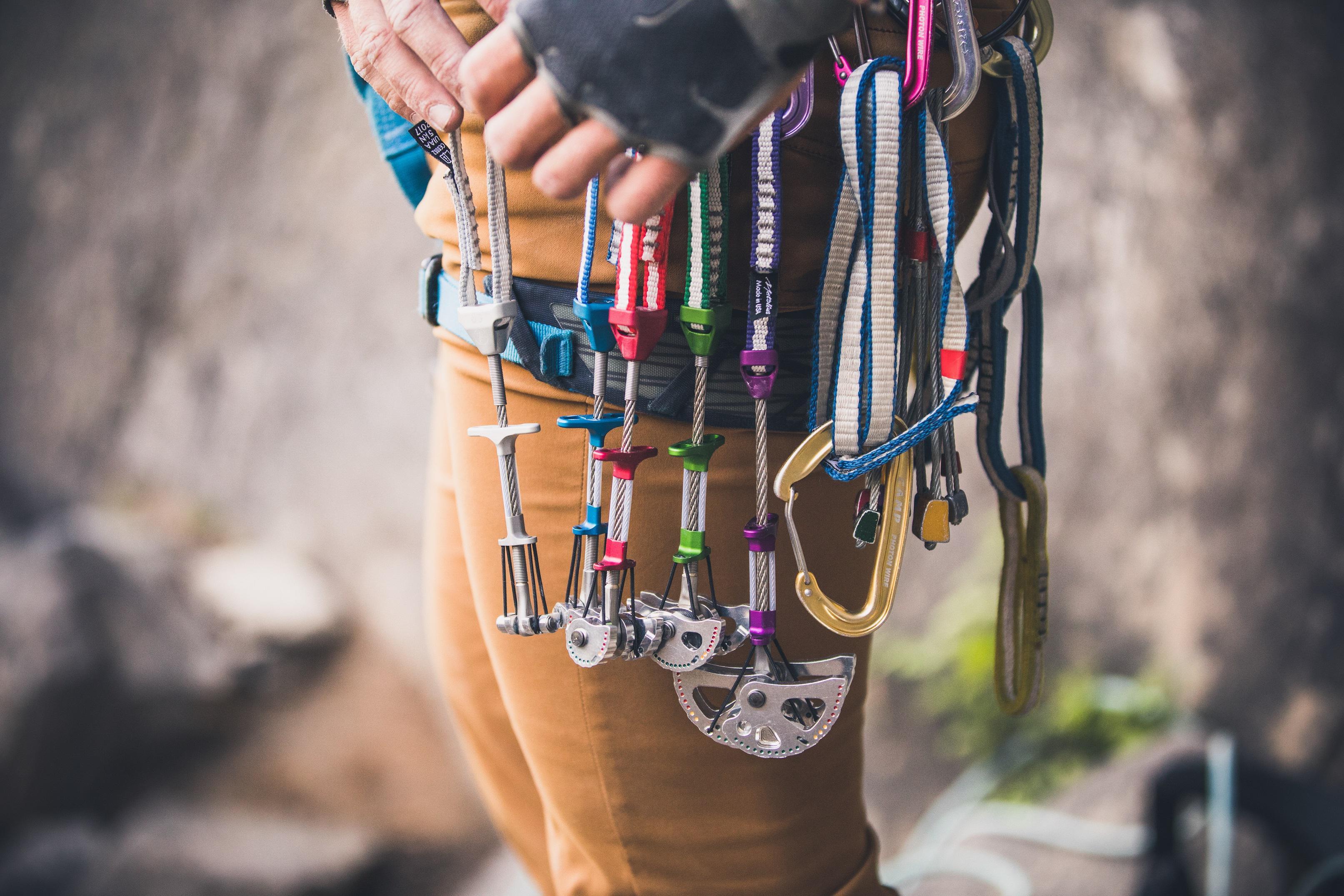 Artificial Rock Climbing Anchors Class - Level 2