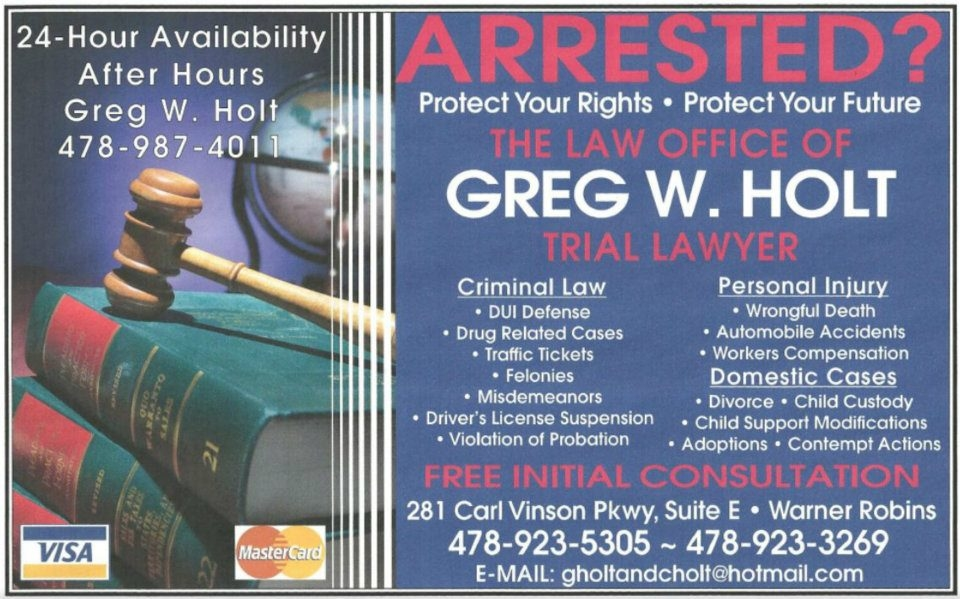 Law Office of Greg W. Holt
