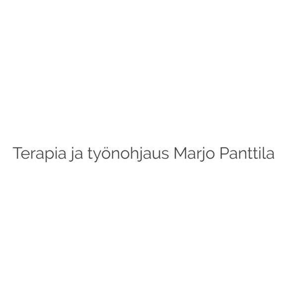 Terapia ja työnohjaus Marjo Panttila