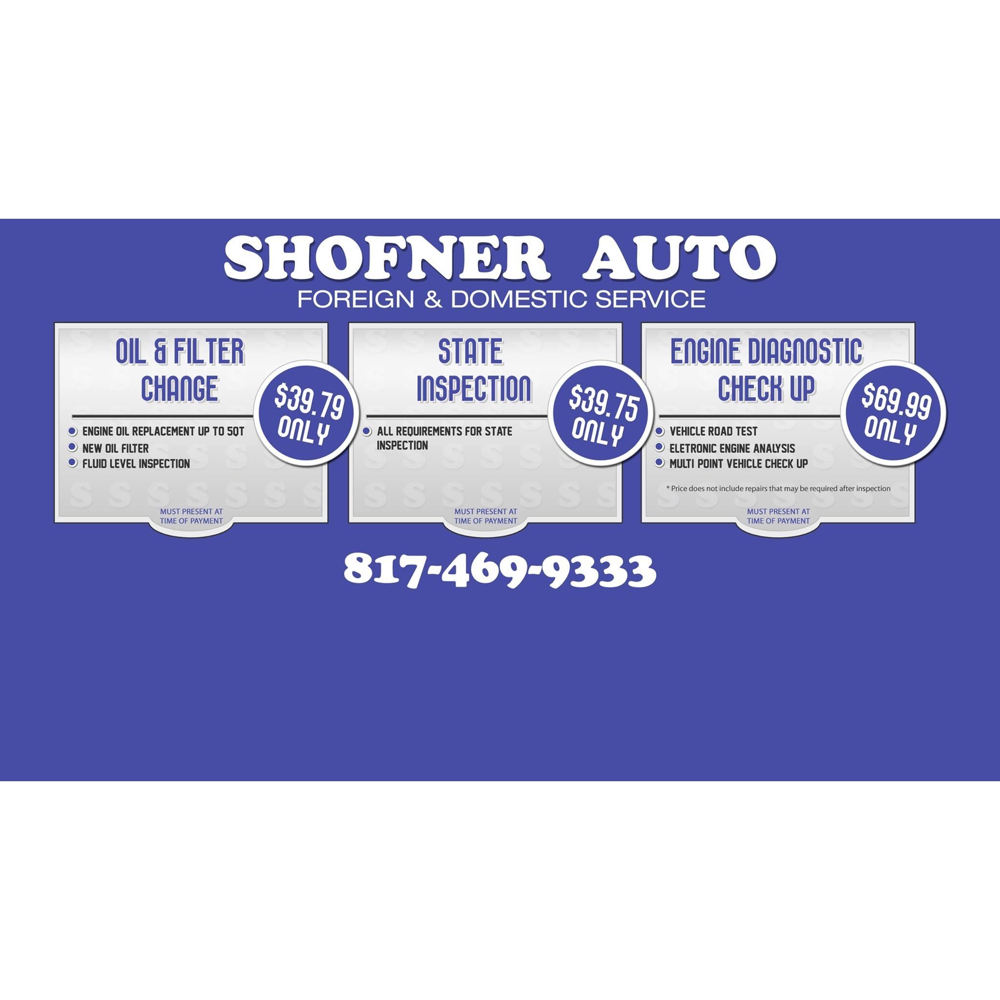 Shofner Auto Repair
