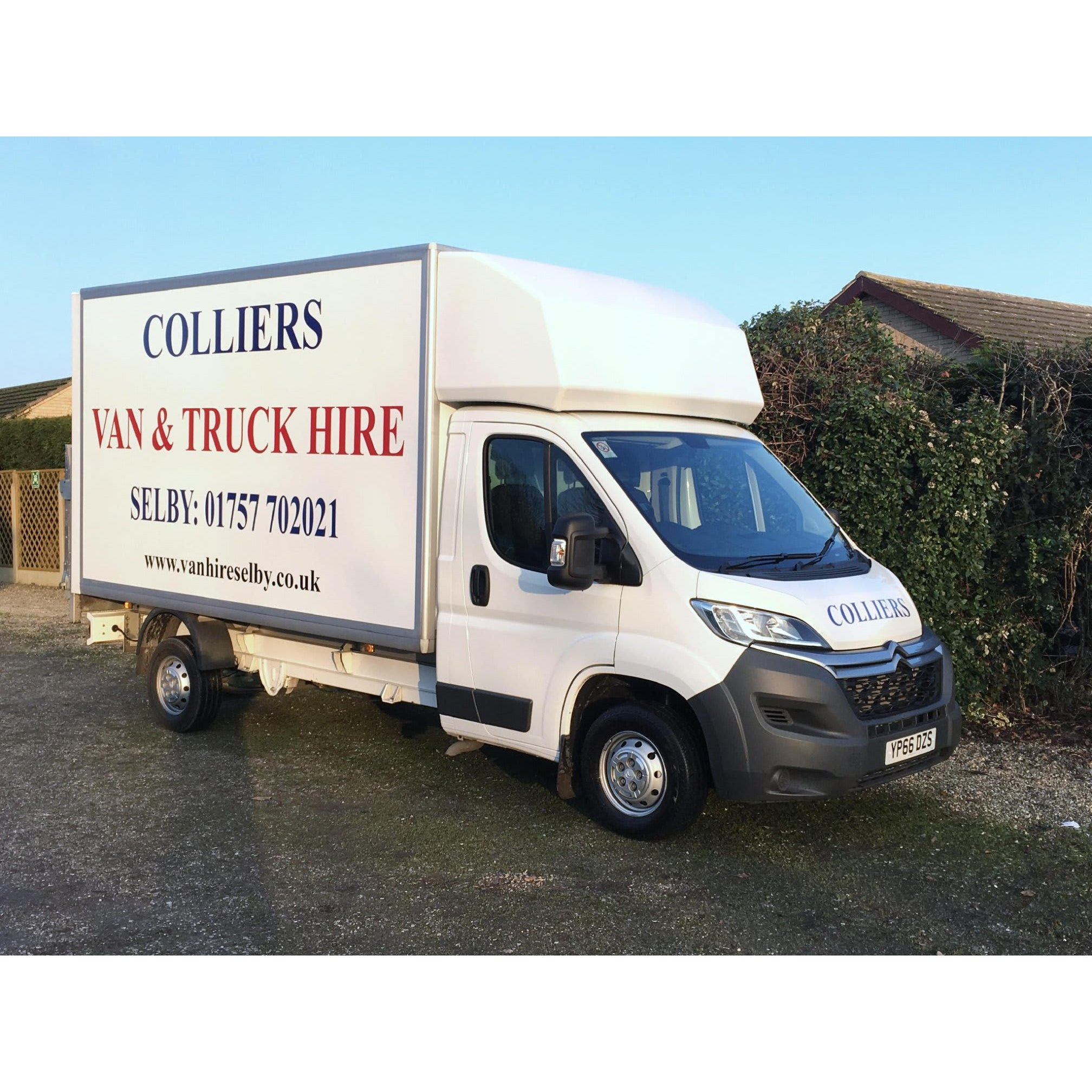 Colliers Van Hire
