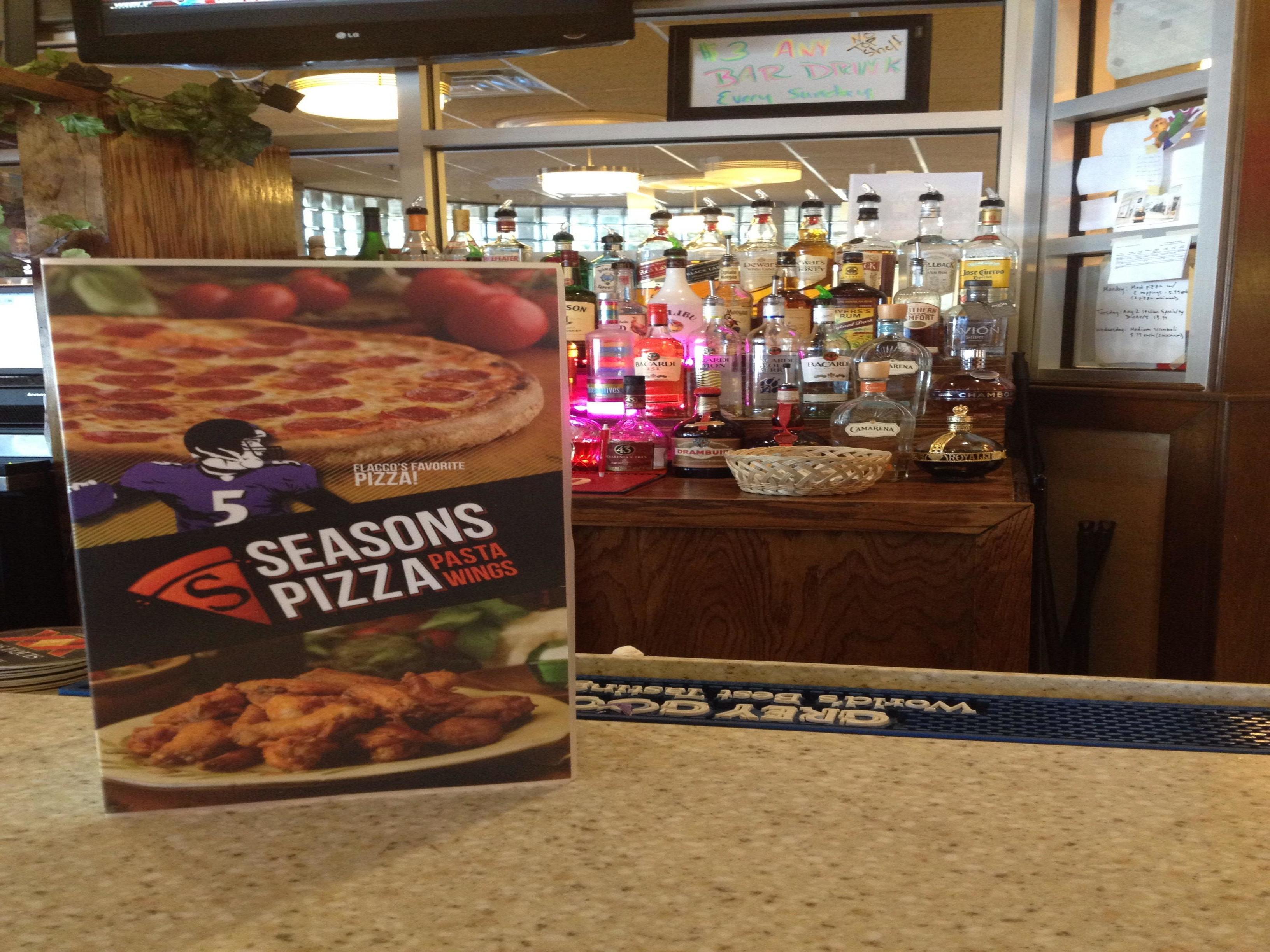 Seasons pizza coupon code