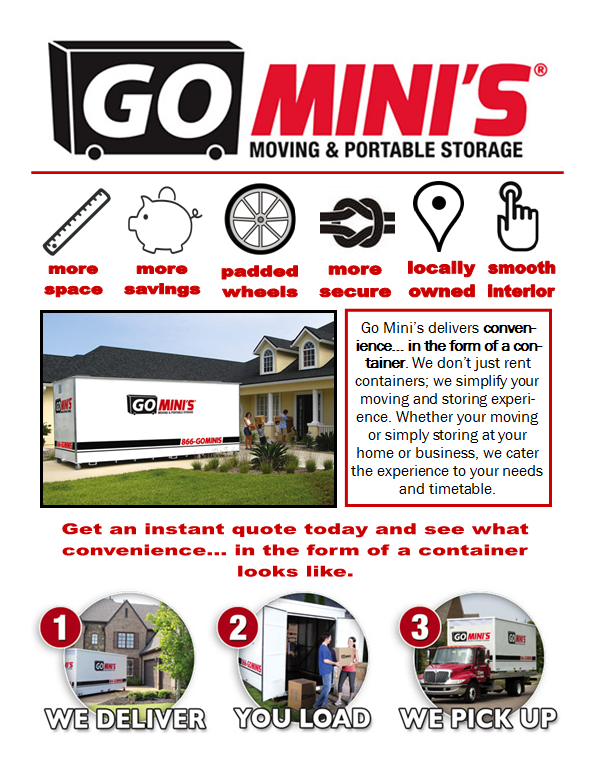 Go Mini S Moving Amp Portable Storage Coupons Near Me In