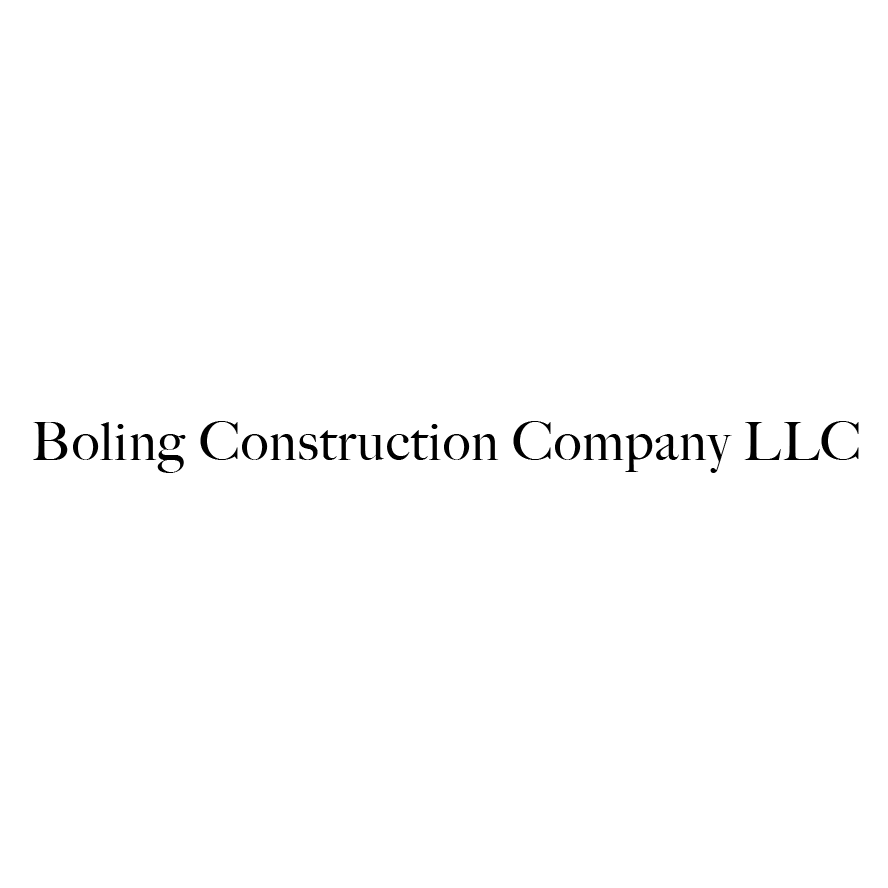 Boling Construction Company LLC