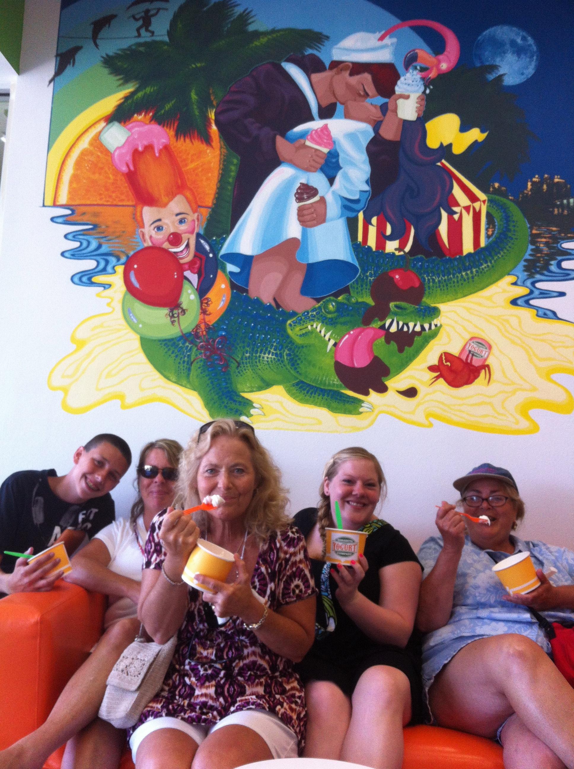 Sarasota Yogurt & Ice Cream Company Plus More