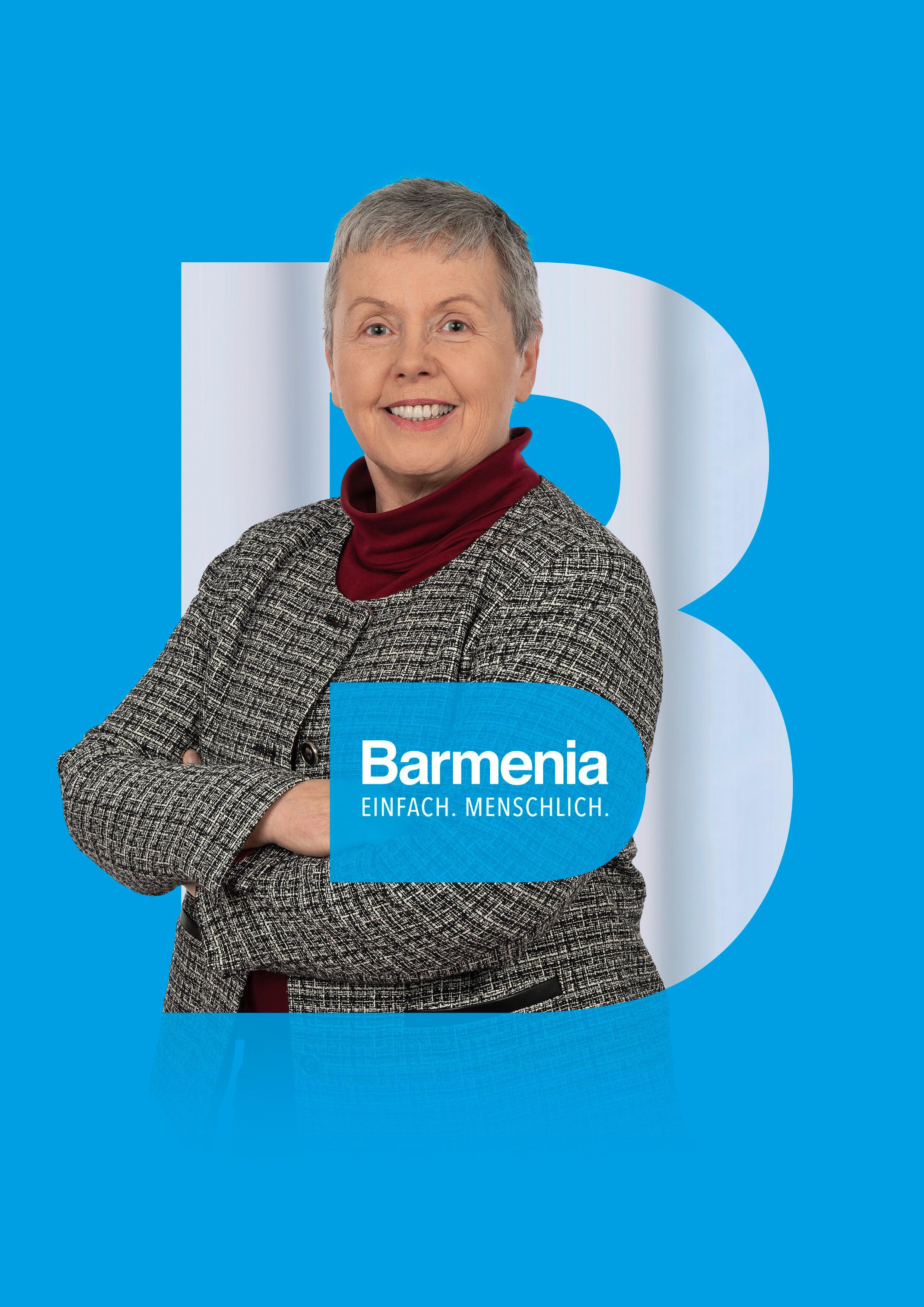 Jutta Schaum. Ihre Ansprechpartnerin für die Barmenia Versicherung in Senftenberg.