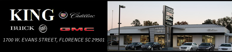 King Cadillac Buick Gmc in Florence, SC | Citysearch