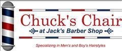 Chuck's Chair at Jack's Barber Shop