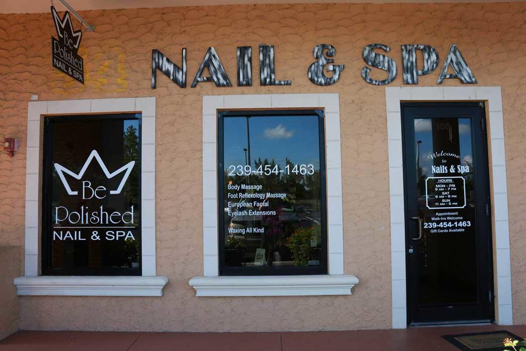 Be polished nail spa fort myers florida fl for Polished nail salon