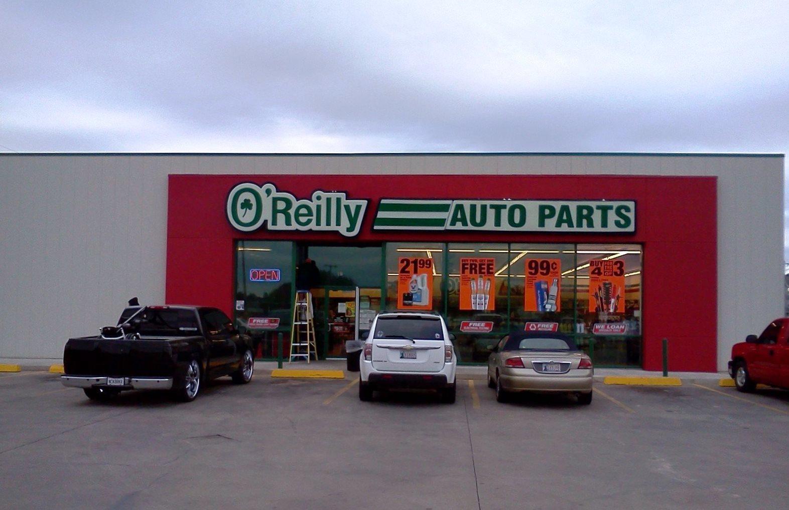 O 39 Reilly Auto Parts Lawton Oklahoma Ok