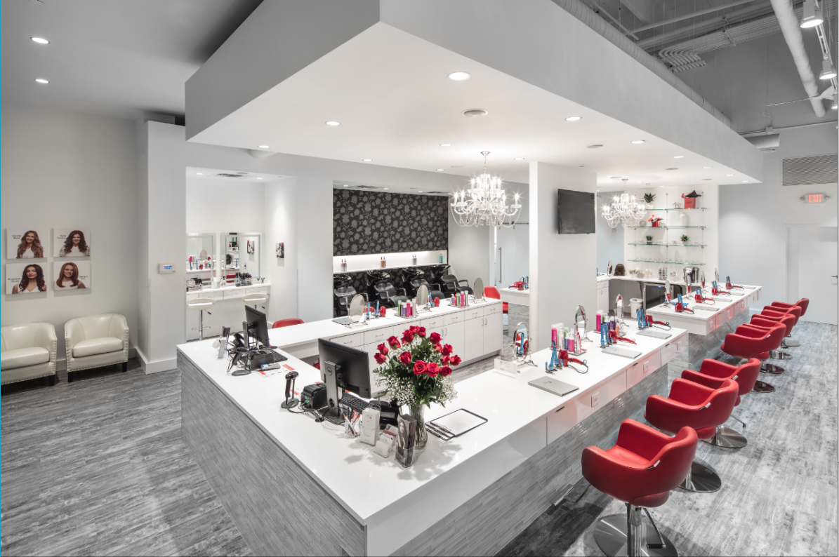 Cherry Blow Dry Bar Midtown Atlanta Georgia Ga