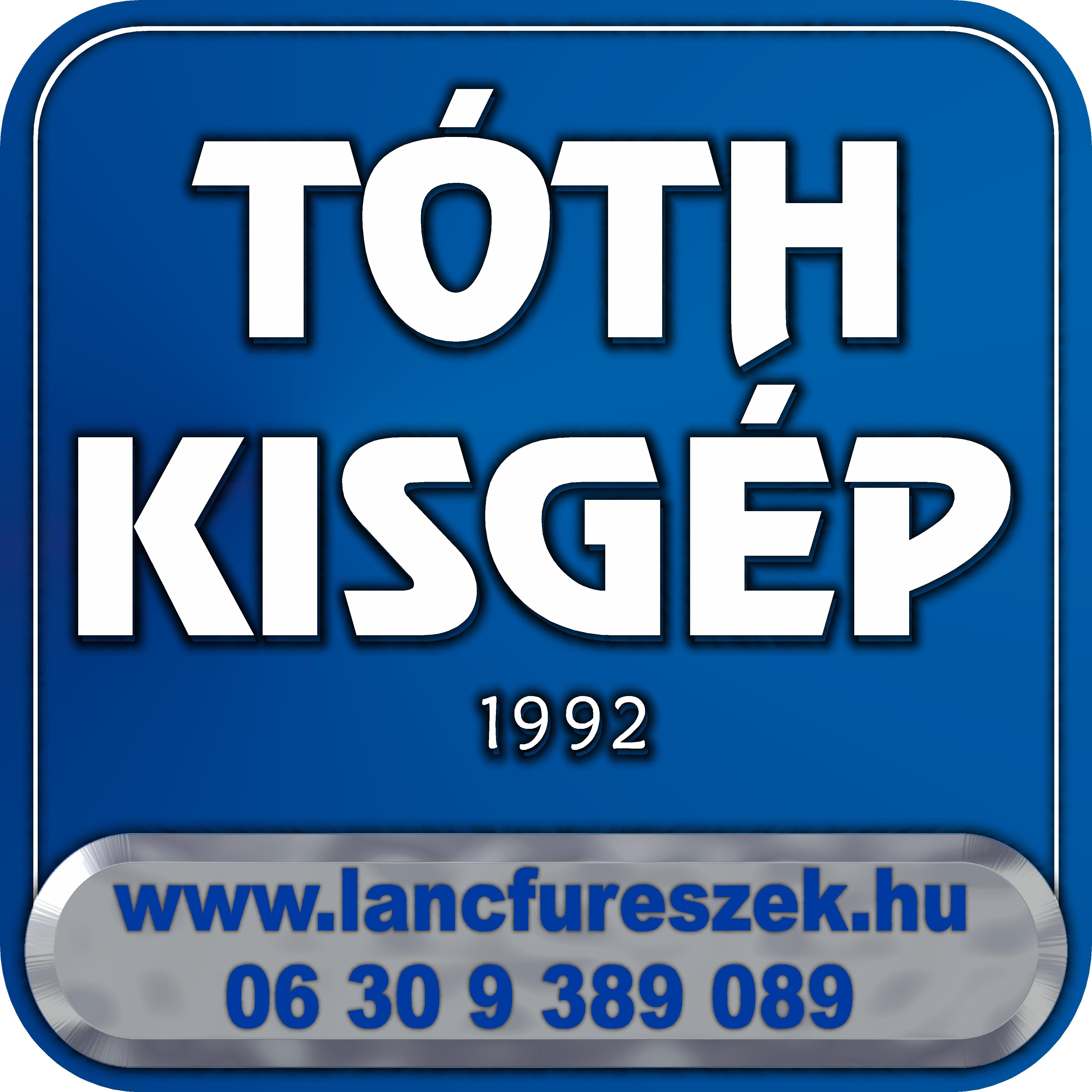 Tóth Kisgép - Szaküzlet- Kölcsönző - Szerviz Logo