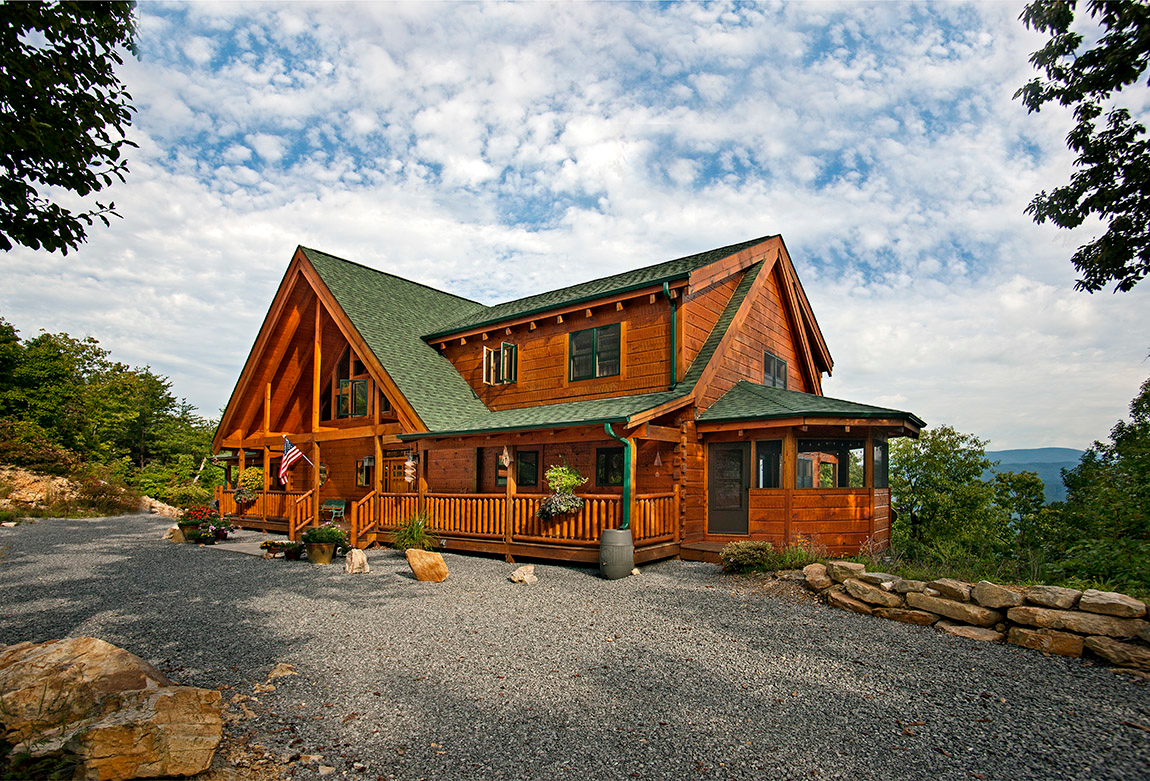 Custom Timber Log Homes image 16