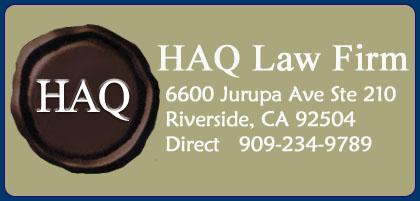 HAQ Law Firm - Riverside, CA
