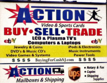 Action Video & Sports Cards