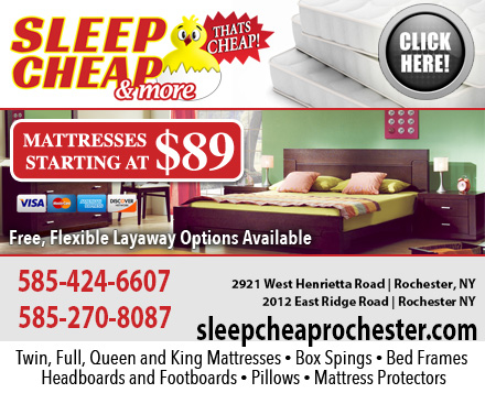 Sleep cheap more in rochester ny 14623 for Affordable furniture greece ny