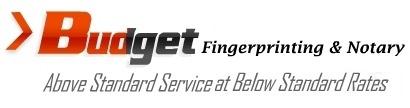 Budget Fingerprinting & Notary