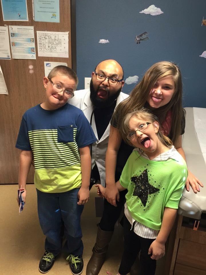 Pediatrician Denver Wheat Ridge Arvada| Dr Lance Lazatin | Fun with the children