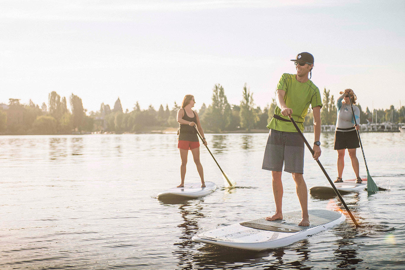 Learn to Stand Up Paddleboard Class