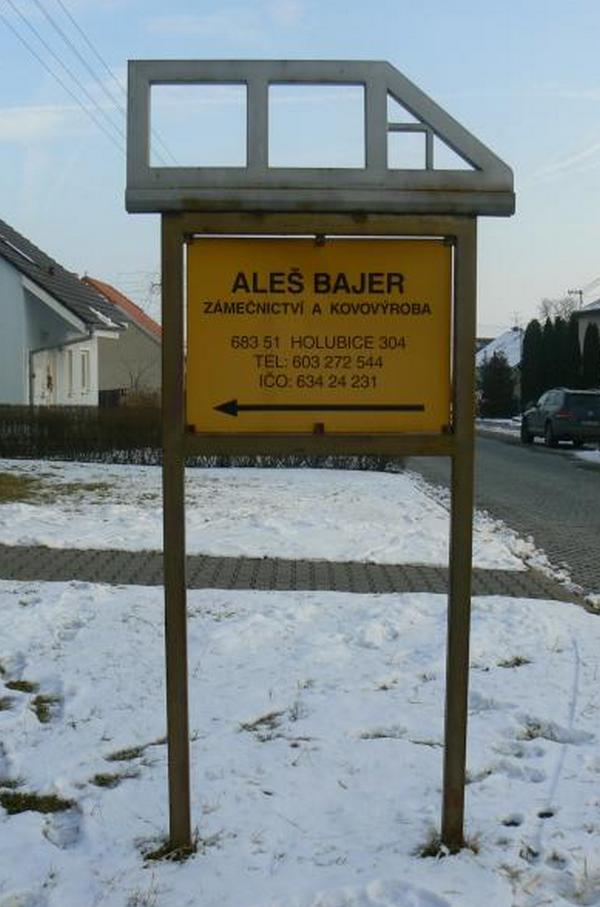 Aleš Bajer - Zámečnictví