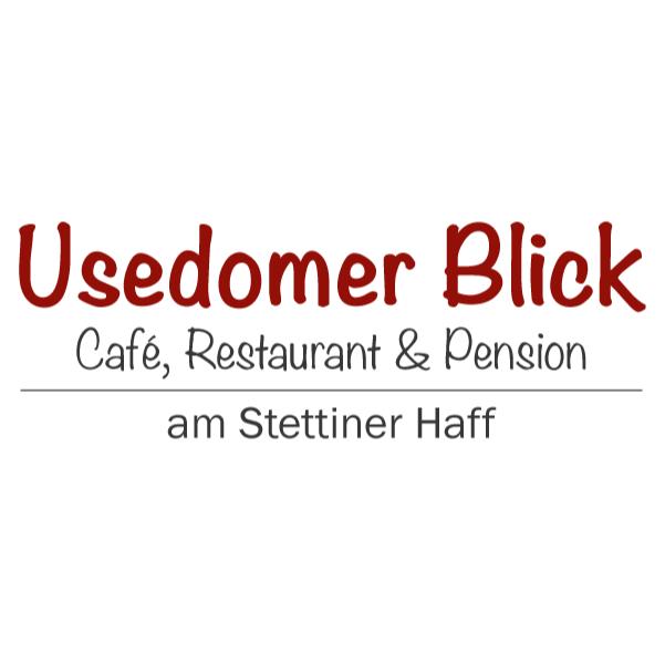 Logo von Usedomer Blick Cafe, Restaurant und Pension