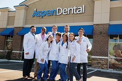 Each Aspen Dental office has a close-knit team that enjoys coming into work each day to welcome patients and address dental needs