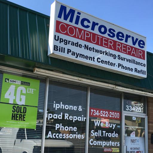 Microserve Computers Garden City Michigan Mi