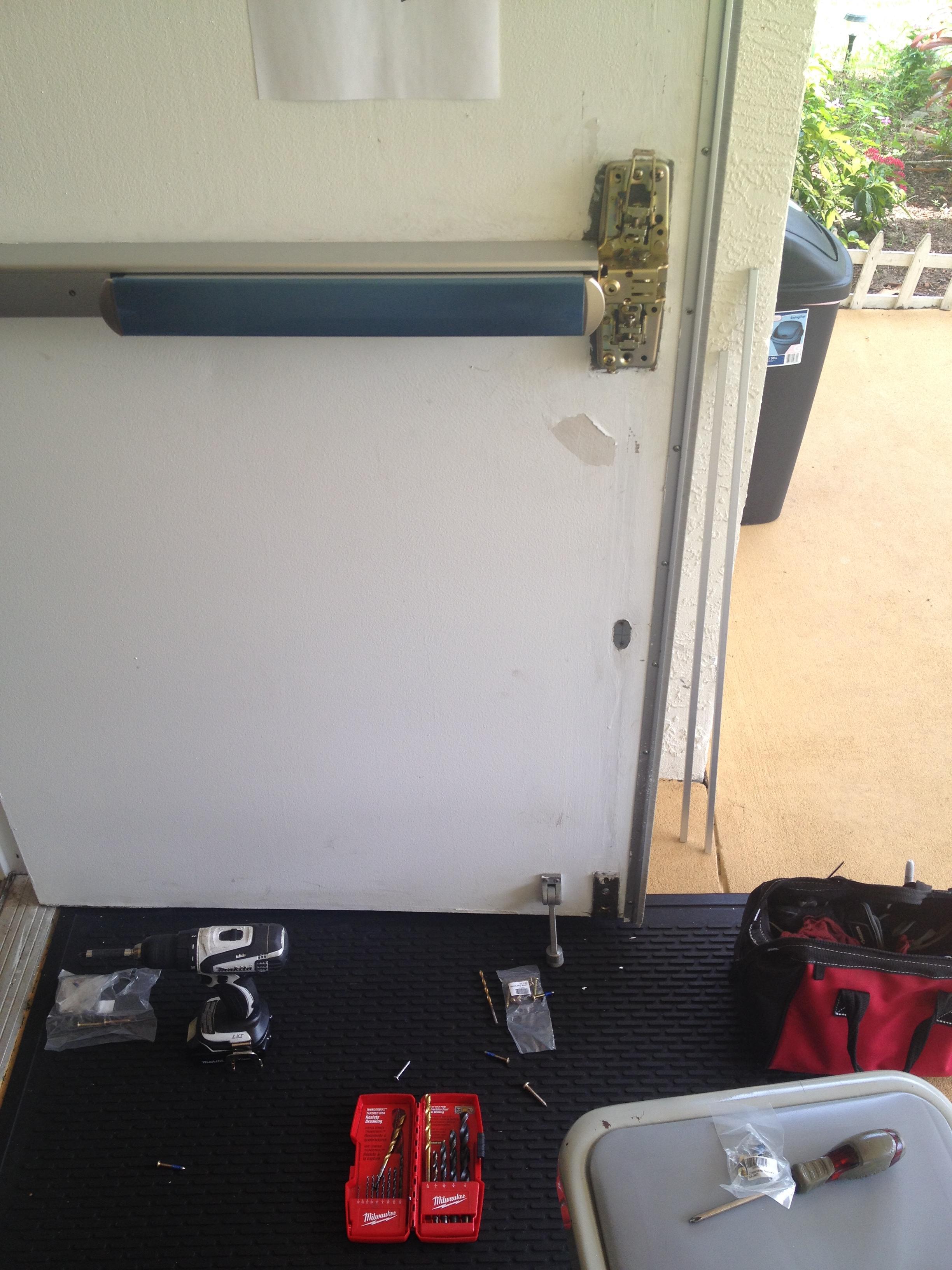 Commercial Locksmith I Panic Bar Installation
