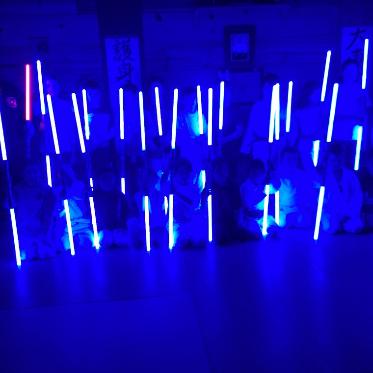 Amazing Double Light sabers!