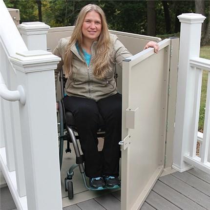 Phoenix Rent Used Wheelchair Elevator Vertical Platform VPL Handicapped PL Porch Lifts