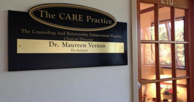 Psychologist in MD Annapolis 21401 Dr. Maureen Vernon - The CARE Practice 116 Defense Hwy Suite 210 (410)266-0019