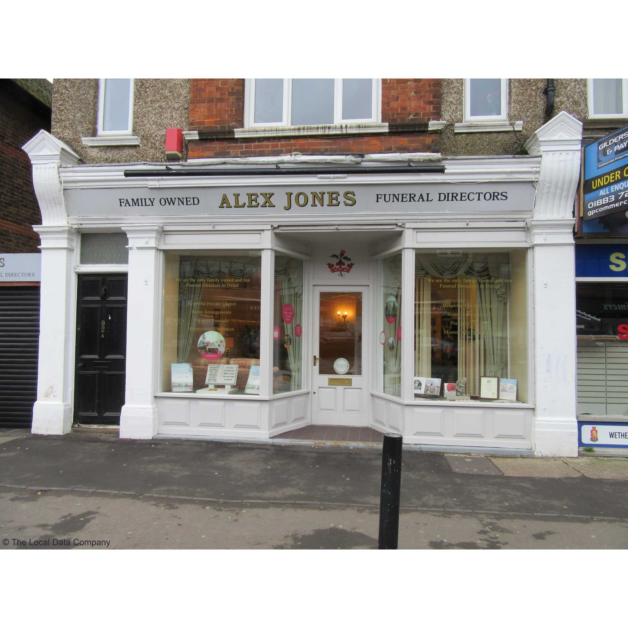 Alex Jones Funeral Directors Ltd - Oxted, Surrey RH8 0QA - 01883 730383 | ShowMeLocal.com