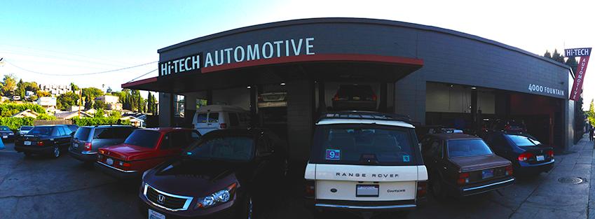 Hi tech automotive los angeles california ca for Electric motor repair los angeles