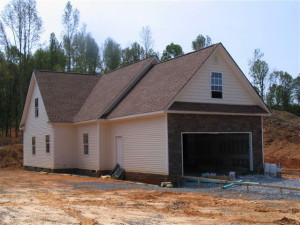 We offer custom work on garages & porches for the homes we build in Statesville, NC.
